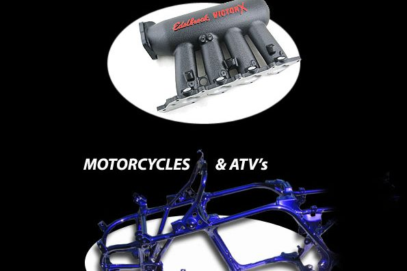 Powder Coating for Automotive and ATV