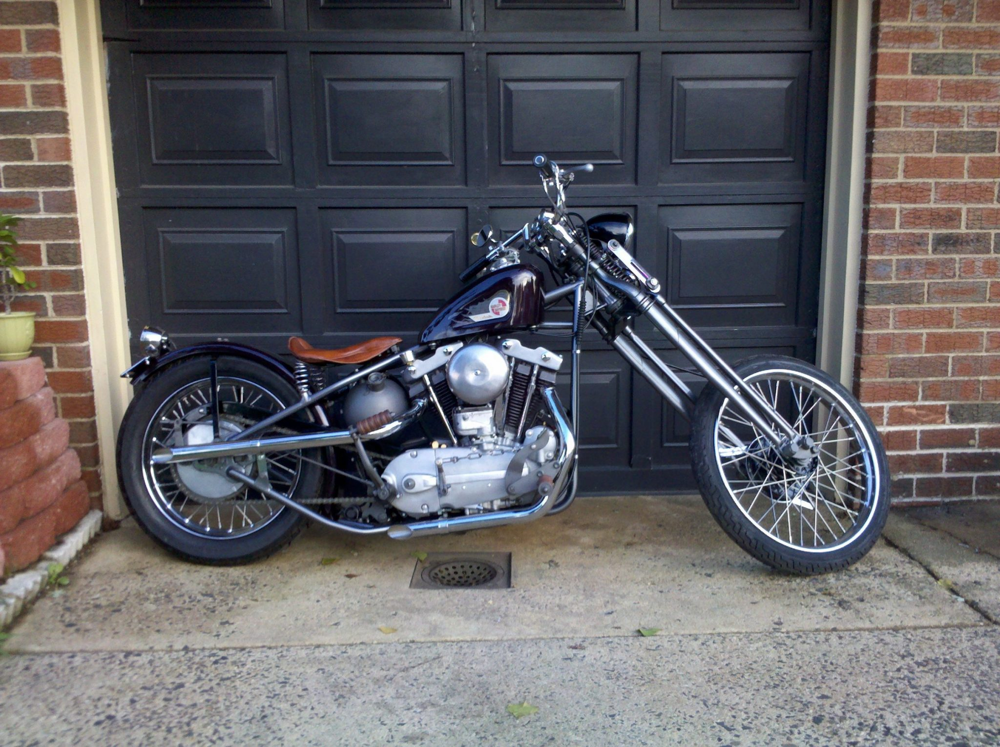 Lew's '57 Harley Davidson – Bonehead Performance