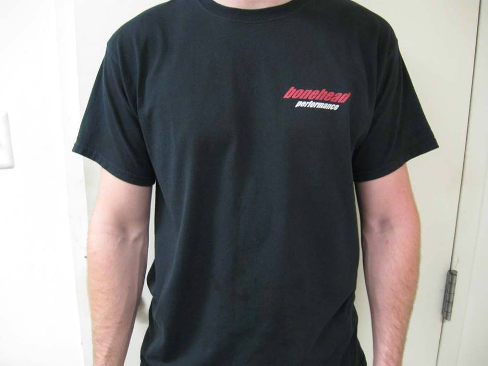 BHP T shirt front view