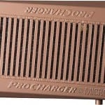 Heat dissipation coated intercooler. Click image to enlarge.