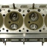 Cylinder head coated chambers. Click image to enlarge.